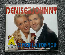 Denise And Johnny - Especially For You - CD Single - Tested - VGC