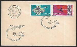 Vietnam North 1965 Vokshod 1 Russian Astronauts FDC Space