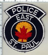 East St. Paul Police (Canada) Shoulder Patch from 1990
