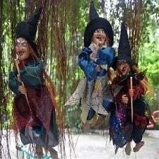 """1PC 12"""" Halloween Decoration  Witch Props Eyes Bright/Laughing Sound Control"""