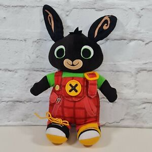 Bing Bunny Learn To Dress Soft Plush Toy Educational CBeebies Fisher Price