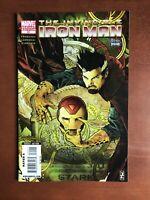 Invincible Iron Man #22 (2010) 9.2 NM Marvel Key Issue Comic Book Variant Editio