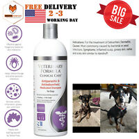 Dogs Medicated Shampoo Dog For Mange Mites Scabies Ticks Fleas Skin Antifungal