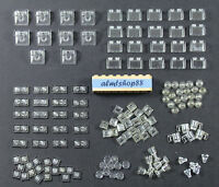 ☀️NEW LEGO 50x TRANS-BLACK 1X2 Bricks Transparent Clear Translucent Trans black