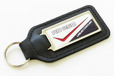 RD250LC 80-81 - 4L1 White/Red Leather Keyring for RD 250 LC RD250 NOS