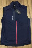 Polo Ralph Lauren Navy RLX Vest Size Small NWT