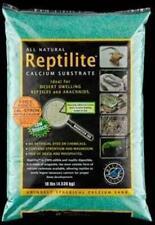 CaribSea Reptile Calcium Substrate Sand Rainforest Green 10 LB Bag Blue Iguana