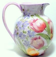 Lesal Ceramics Hand Crafted Pitcher Extra Large Lisa Lindberg VanNorthwick NEW
