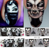 Nail Art Water Decals Halloween Transfer Stickers DIY Design  Nail Decal