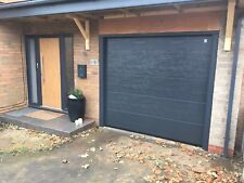 ANTHRACITE GREY RAL 7016 SECTIONAL GARAGE DOOR FREE COLOUR INSULATED 40mm CHEAP