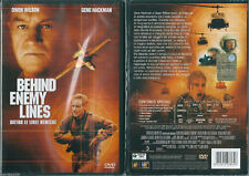Behind enemy lines. Dietro le linee nemiche (2001) DVD NUOVO Owen Wilson, Gene H