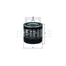 Ölfilter - Mahle OC 63