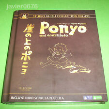 PONYO EN EL ACANTILADO STUDIO GHIBLI COLLECTION DELUXE BLU-RAY + DVD + LIBRO