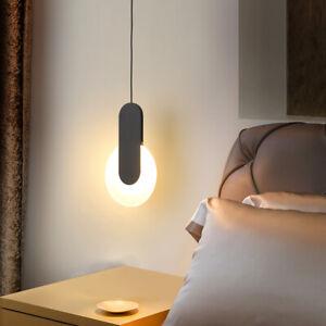 Black Kitchen Pendant Lighting Bar Chandelier Light Led Bedroom Ceiling Lights
