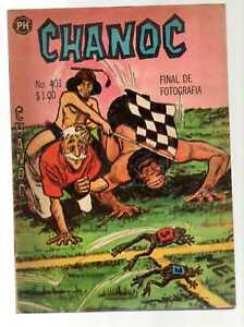 CHANOC #401 Final de Fotografía, Publicaciones Herrerías Mexican Comic 1967