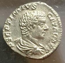 Rome 209-211 AD Geta Silver Denarius 924-5