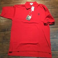 red Slazenger golf collection polo Size Adult Large