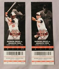 2014 Baltimore Orioles Ticket Stub Pick One - unused Season Ticket
