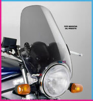 PUIG WINDSHIELD CUSTOM II ROYAL ENFIELD INTERCEPTOR 650 19 LIGHT SMOKE