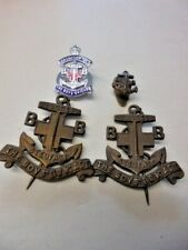 More details for boys brigade-4 x vintage boys brigade badges direct from house clearance