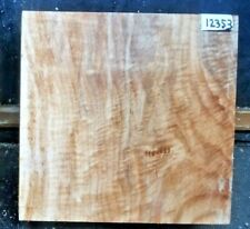 Figured Maple Lathe Wood Special 12353 One Turning Blank 9.25 x 9.25 x 3.625