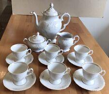 Vintage Tea/coffee set, 17 pcs.,WAWEL,HARBRO - Poland