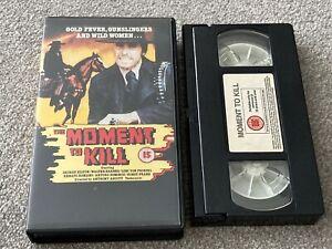 The Moment to Kill (1968) Spaghetti Western VHS Video, Retro, Vintage.