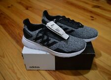 Adidas Duramo 9 totalmente nuevo para hombre Negro/Blanco Correr Zapatillas Size UK 8.5