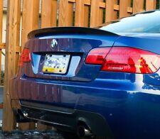 BLACK GLOSS BMW E92 SPOILER 3 SERIES BOOT WING TRUNK M3 GT REAR PERFORMANCE LIP