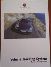 Porsche Vehicle Tracking System brochure Oct 2005
