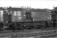 CLASS 08 D3683 at Stratford c1970 RAILWAY Photograph