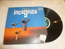 "INCOGNITE - Givin it up - 1993 UK 5-track 12"" Vinyl Single"