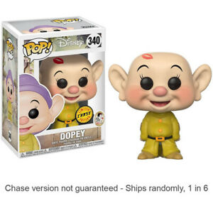 Snow White & the Seven Dwarfs Dopey Pop! Chase Ships 1 in 6