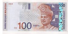 RM100 10th series, Ali Hassan centre, prefix AM (UNC)