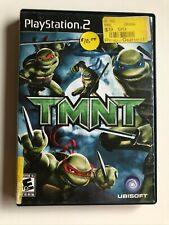 TMNT Ps2 no manual black label box, red label game