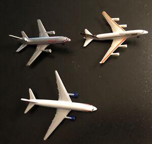 Lot Of 3 Vintage Diecast Airplanes