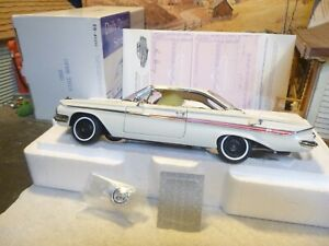 WCPD  daily driver 1961 Chevy hardtop #0486 ermine white / title