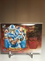 2020 Donruss Football Kenny Golladay Leather Kings 65/299 LK-KG Patch Lions SP