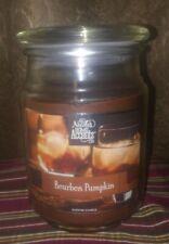 """Nicole's Home Accents """"Bourbon Pumpkin"""" 18 oz Large Jar Candle,BN"""