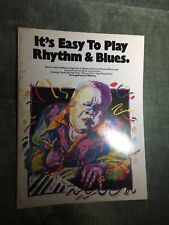 It's easy to play rhythm & Blues Cyril Watters recueil piano Wise publications