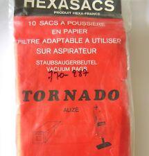 HEXASACS 10 sacs pour aspirateur TORNADO ALIZE