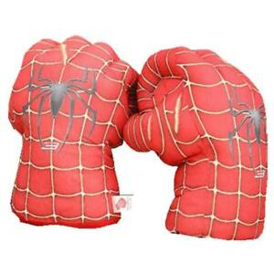 NEW One Pair of Marvel Hero Spiderman Smash Hands Toy Gloves Boxing Fists toy8