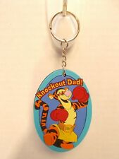 DISNEY TIGER KEY CHAIN FOR FATHERS DAY NEW RUBBER c