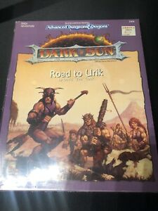 AD&D SEALED Dark Sun Module - Road To Urik - Dungeons and Dragons - TSR 2406