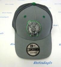 Boston Celtics Men's New Era 9FORTY Grey Pop Cap Hat