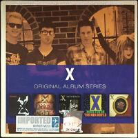 X - Original Album Series 2011 MALAYSIA EU EDITION 5 CD SET NEW SEALED