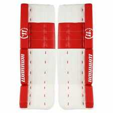 """New Warrior Ritual G2 Pro ice hockey goalie leg pads 34""""+1.5 Sr White/Red senior"""