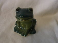 Vintage Porcelain China Frog #^