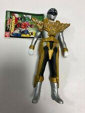 "Silver Gold Mode GOKAIGER Sentai Hero Series 2012 Bandai soft vinyl 7"" figure"