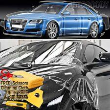 """108""""x60"""" Clear Bra Paint Protection Vinyl Film Wrap Transparent Car Paint Shield"""
